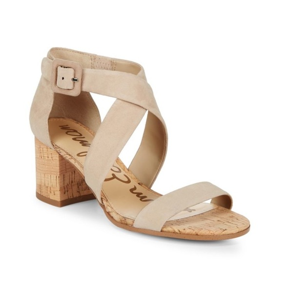 fa232ff5e482a9 Sam Edelman Sonia leather open toe sandals. M 5a9232acdaa8f6ba3a8e1674